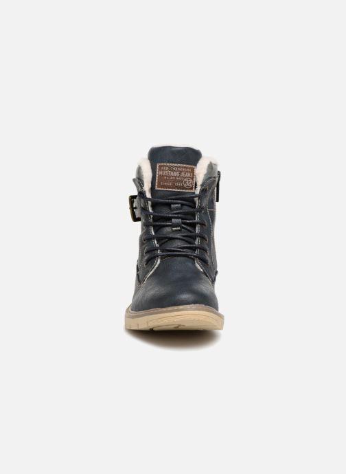 Bottines et boots Mustang shoes Didi Bleu vue portées chaussures
