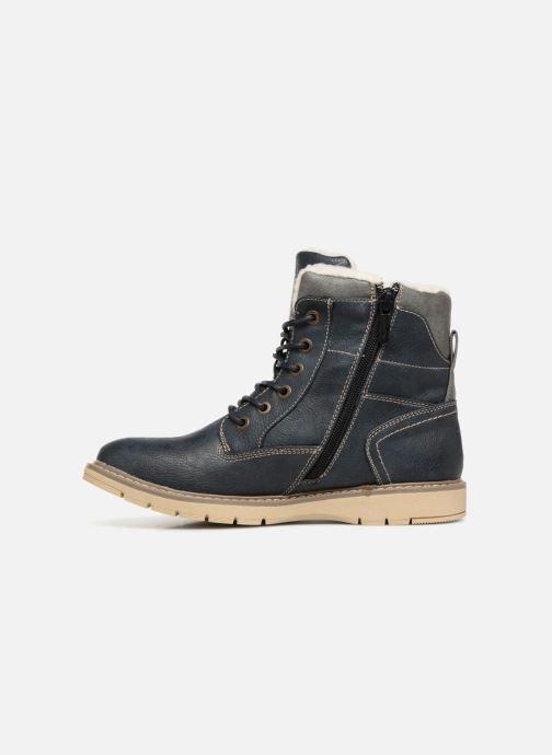Boots en enkellaarsjes Mustang shoes Didi Blauw voorkant