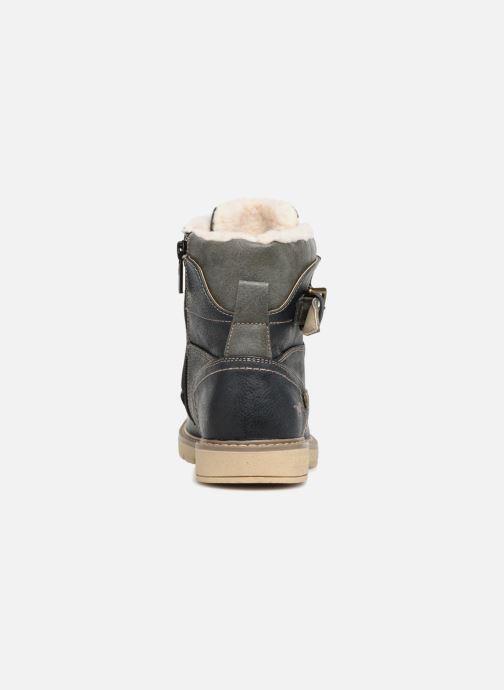 Bottines et boots Mustang shoes Didi Bleu vue droite