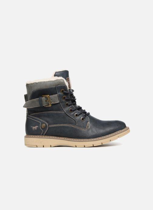 Boots en enkellaarsjes Mustang shoes Didi Blauw achterkant
