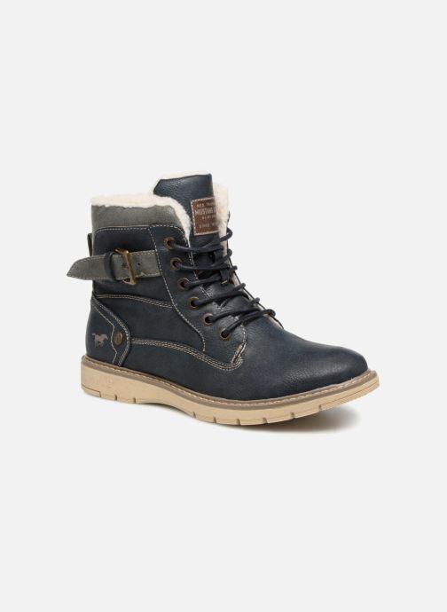 Bottines et boots Mustang shoes Didi Bleu vue détail/paire