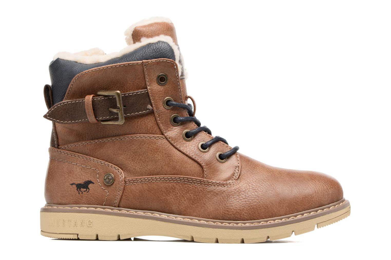 Bottines et boots Mustang shoes Didi Marron vue derrière