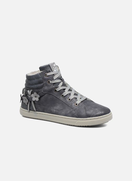 Sneakers Mustang shoes Elli Grå detaljeret billede af skoene