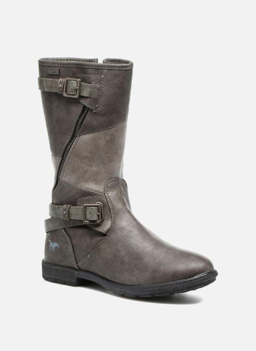 Bottes Mustang shoes Liesa Gris vue détail/paire