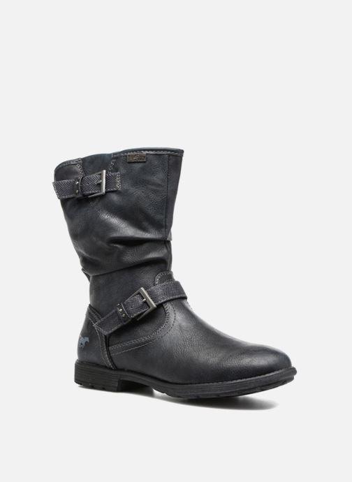 75d80c2b Støvler & gummistøvler Mustang shoes Susi Blå detaljeret billede af skoene