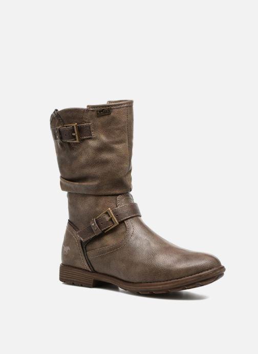 Bottes Mustang shoes Susi Marron vue détail/paire