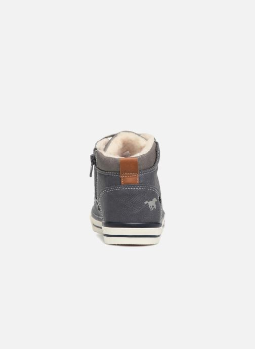 Baskets Mustang shoes Benno Bleu vue droite