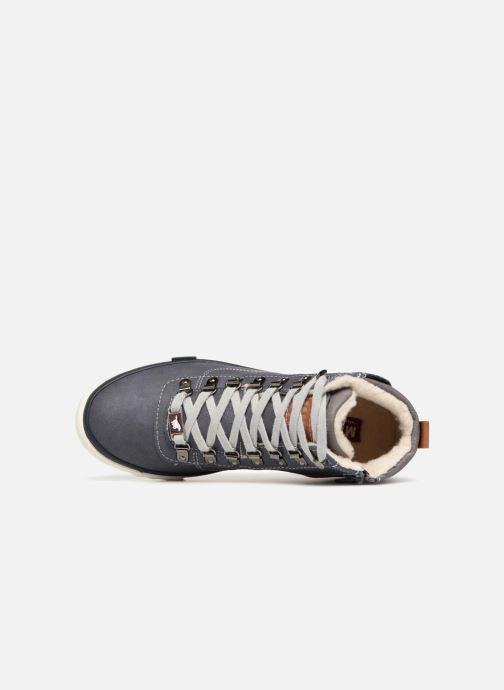 Baskets Mustang shoes Benno Bleu vue gauche