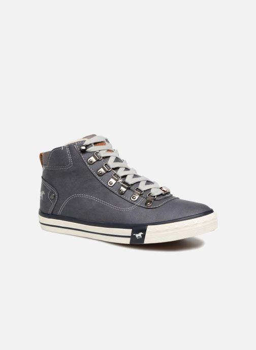 Baskets Mustang shoes Benno Bleu vue détail/paire