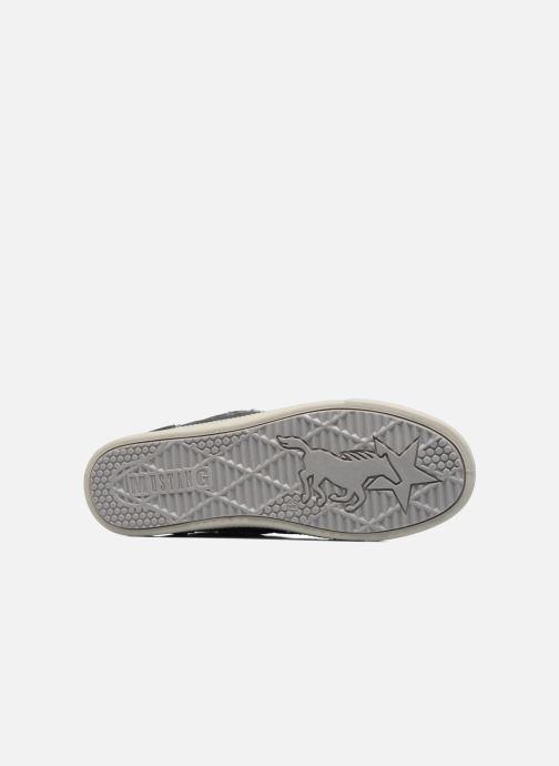 Baskets Mustang shoes Gero Gris vue haut