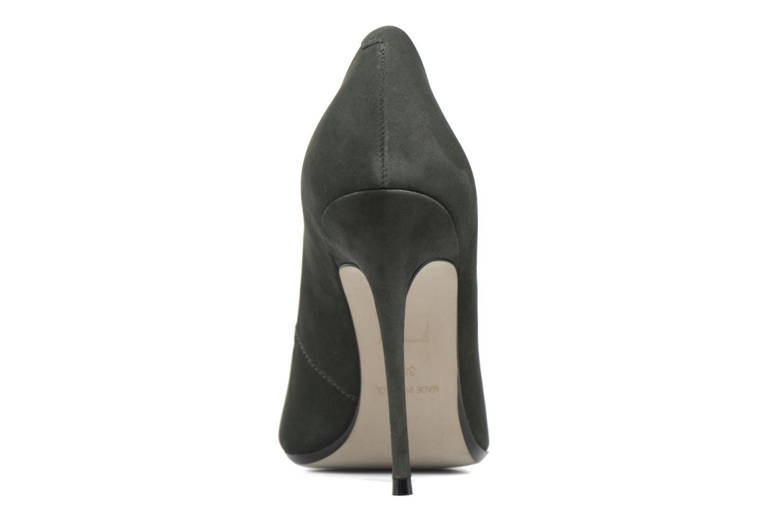 Zapatos de tacón Bronx Briox A Verde vista lateral derecha