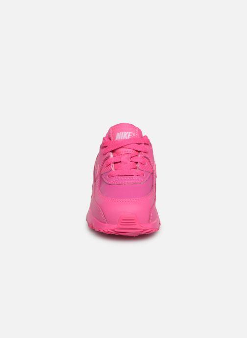Sneaker Nike Nike Air Max 90 Ltr (Td) rosa schuhe getragen