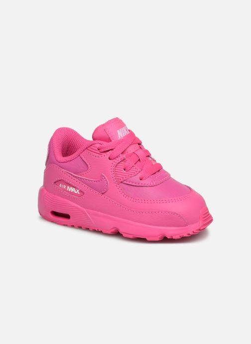 detailed look 4a4b5 efbcc Baskets Nike Nike Air Max 90 Ltr (Td) Rose vue détail paire