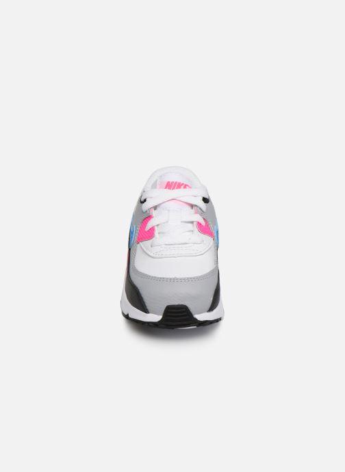 Baskets Nike Nike Air Max 90 Ltr (Td) Multicolore vue portées chaussures