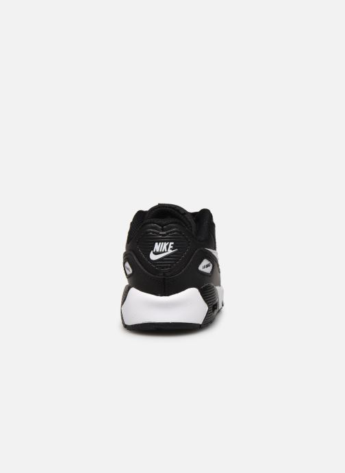 Trainers Nike Nike Air Max 90 Ltr (Td) Black view from the right