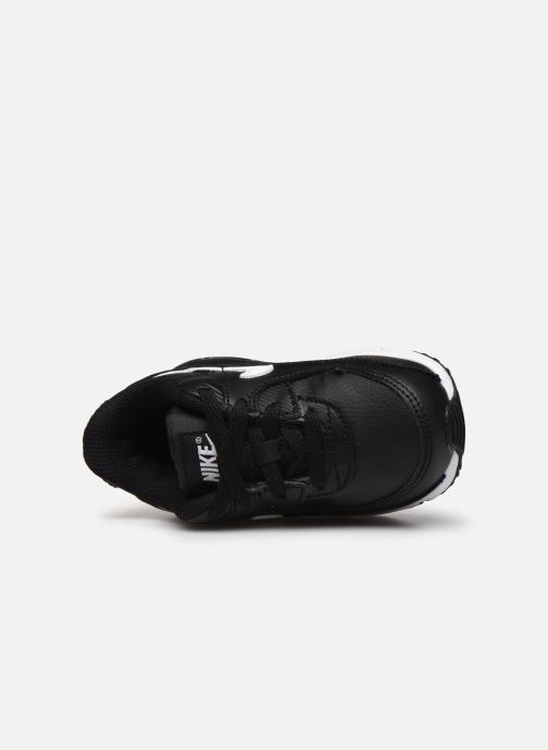 Trainers Nike Nike Air Max 90 Ltr (Td) Black view from the left