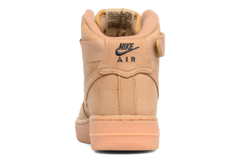 Sneakers Nike Air Force 1 High Wb (Gs) Marrone immagine destra