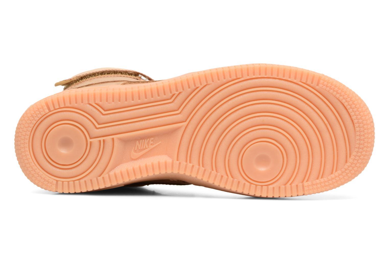 Sneakers Nike Air Force 1 High Wb (Gs) Marrone immagine dall'alto