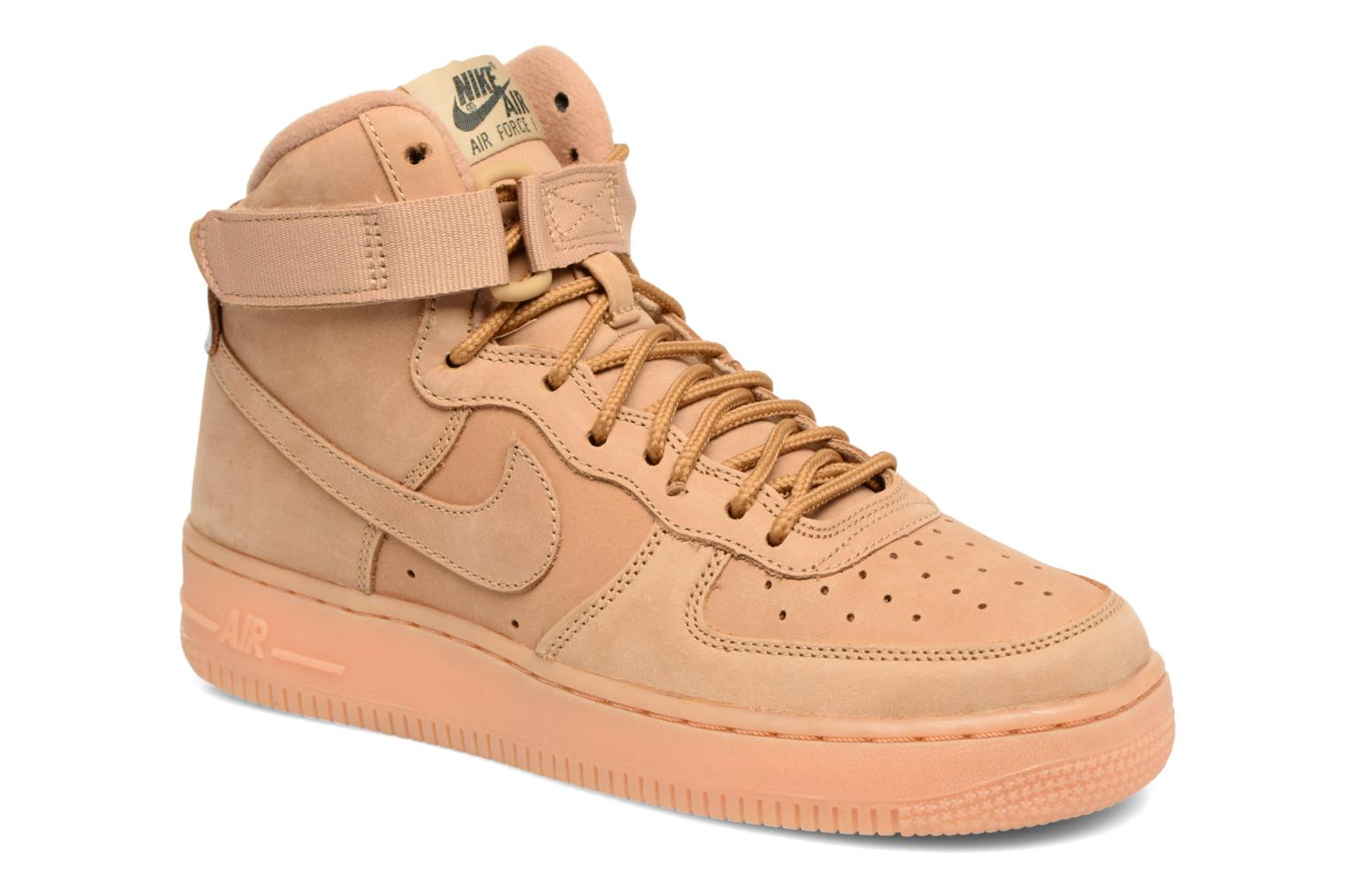 Trainers Nike Air Force 1 High Wb (Gs) Brown detailed view/ Pair view