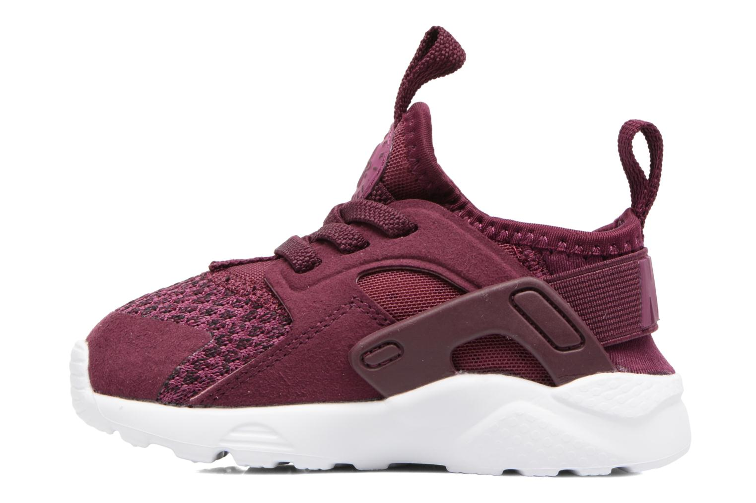 Baskets Nike Huarache Run Ultra Se (Td) Bordeaux vue face