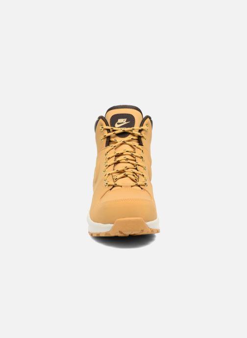 Stiefeletten & Boots Nike Nike Manoa (Gs) braun schuhe getragen