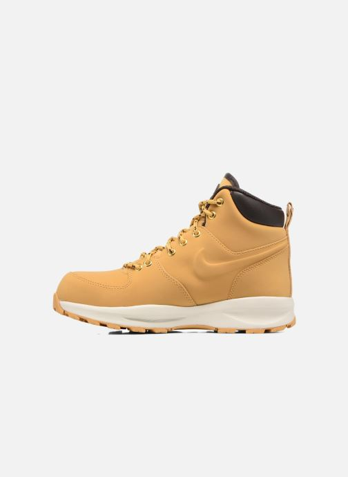 Ankle boots Nike Nike Manoa (Gs) Brown front view