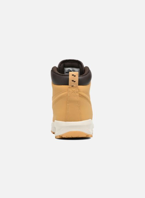 Ankle boots Nike Nike Manoa (Gs) Brown view from the right