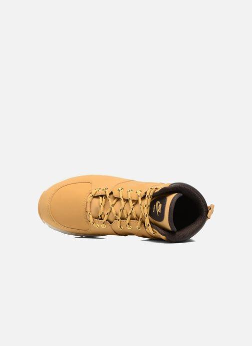 Ankelstøvler Nike Nike Manoa (Gs) Brun se fra venstre