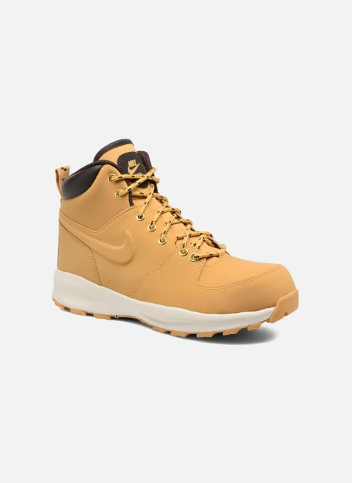Ankelstøvler Nike Nike Manoa (Gs) Brun detaljeret billede af skoene