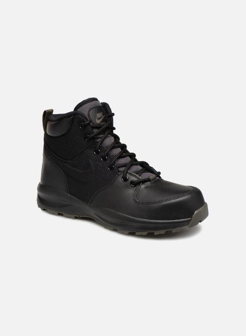 online retailer d79a3 c57db Bottines et boots Nike Nike Manoa (Gs) Noir vue détail paire