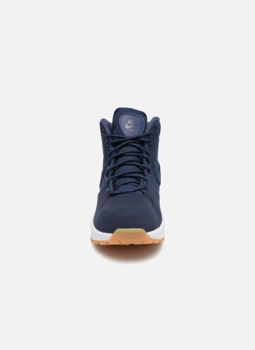 Stivaletti e tronchetti Nike Nike Manoa (Gs) Azzurro modello indossato