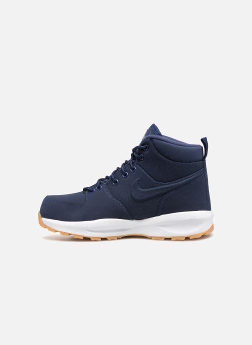 Stivaletti e tronchetti Nike Nike Manoa (Gs) Azzurro immagine frontale