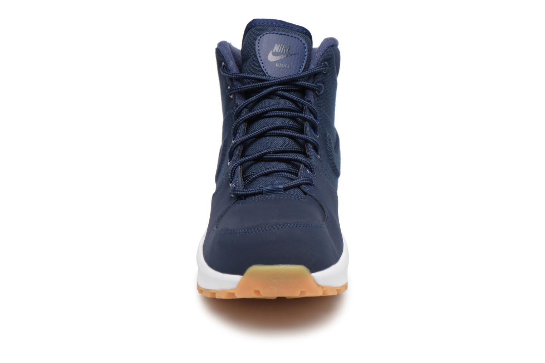 Bottines et boots Nike Nike Manoa (Gs) Bleu vue portées chaussures