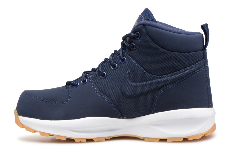 Bottines et boots Nike Nike Manoa (Gs) Bleu vue face