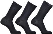 Chaussettes coton rayures et pois Lot de 3