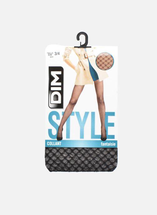 Socks & tights Dim Collant Voile Bijou Black detailed view/ Pair view