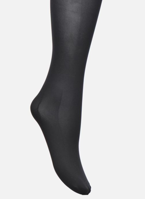 Sokken en panty's Dim Collant Opaque Spécial Sneakers Zwart achterkant