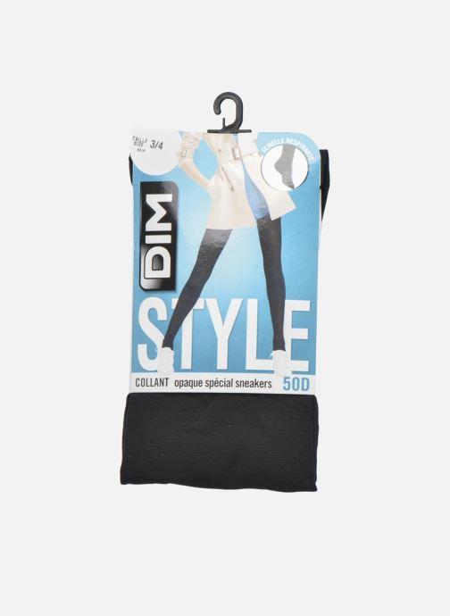 Chaussettes et collants Dim Collant Opaque Spécial Sneakers Noir vue détail/paire
