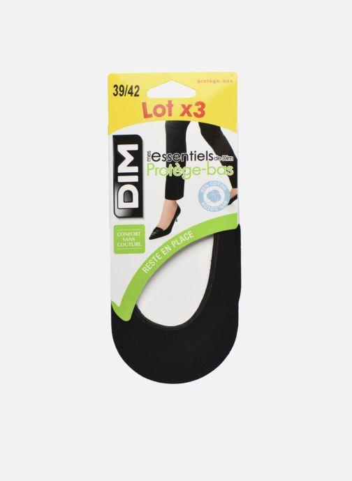 Sokken en panty's Dim Protège bas coton Lot de 3 Zwart achterkant