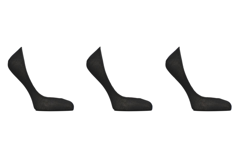 Chaussettes et collants Dim Protège bas coton Lot de 3 Noir vue détail/paire