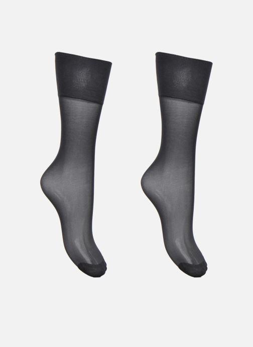 Chaussettes et collants Dim Mi-Bas MOUSSE STRETCH Lot de 2 Noir vue détail  36a1749ca25