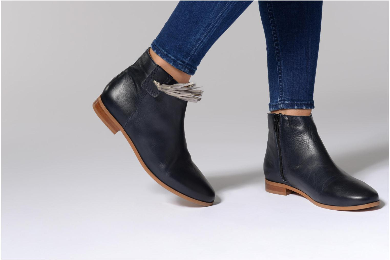 Bottines et boots Georgia Rose Goupone Bleu vue bas / vue portée sac