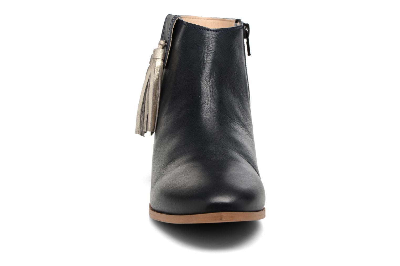 Bottines et boots Georgia Rose Goupone Bleu vue portées chaussures