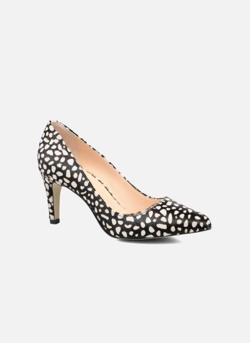 High heels Georgia Rose Gaby Black detailed view/ Pair view