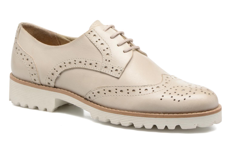 Chaussures à lacets Kickers Pytch Beige vue détail/paire