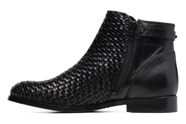 Bottines et boots Kickers Tuna Noir vue face
