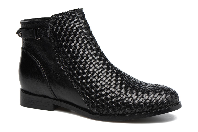 Bottines et boots Kickers Tuna Noir vue détail/paire