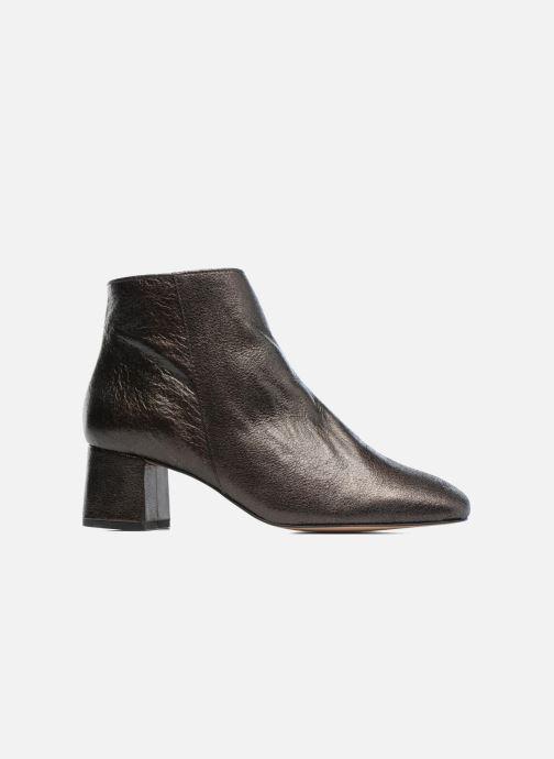 Bottines et boots Georgia Rose Craquel Noir vue derrière