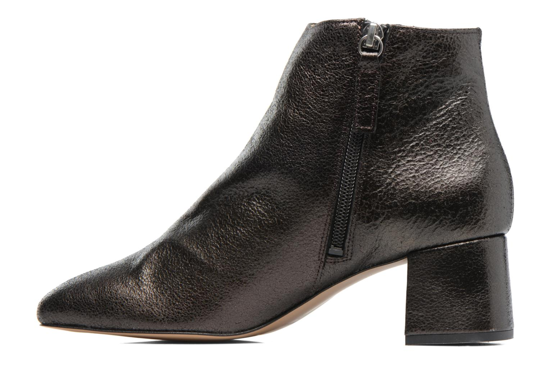 Ankle boots Georgia Rose Craquel Black front view