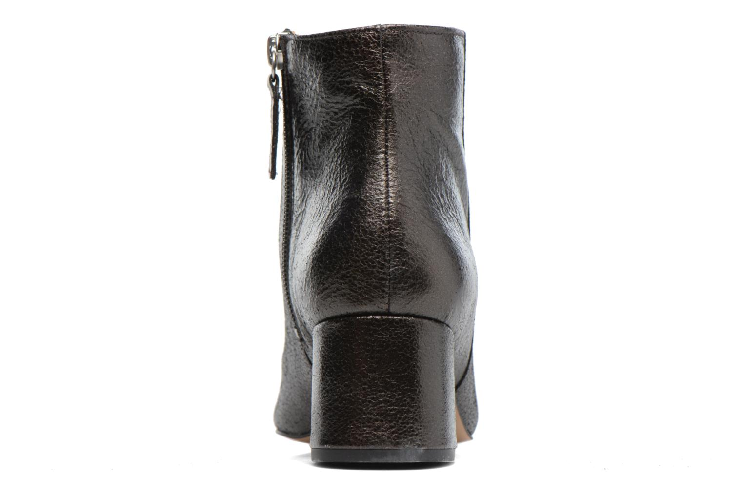 Ankle boots Georgia Rose Craquel Black view from the right